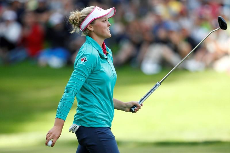 Henderson leads by a stroke after Round 3 of Marathon Classic