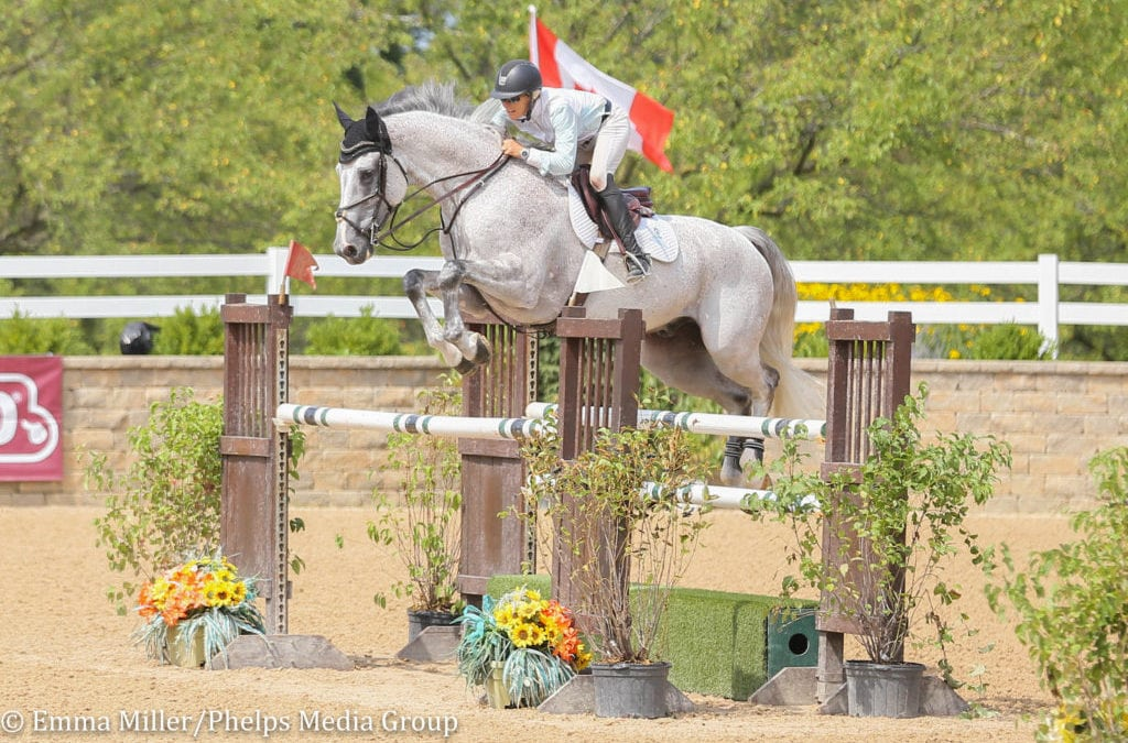 Holly Shepherd Finishes One-Two in $5,000 Open 1.40m Welcome at Equifest III