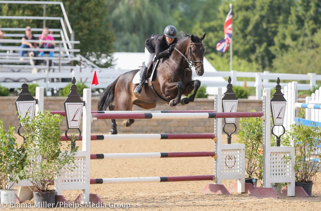 Liz Atkins and Rodeo VDL Come Out On Top in Equifest III's $25,000 Grand Prix