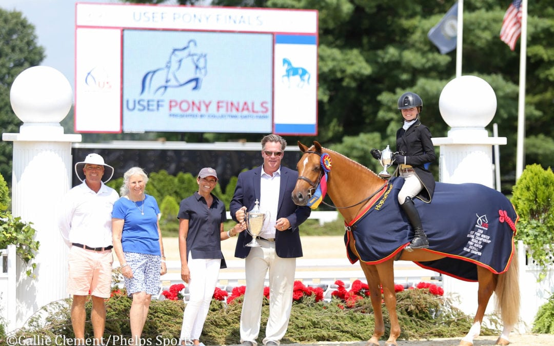 Tessa Downey and Kat Fuqua Steal the Show at 2018 USEF Pony Finals
