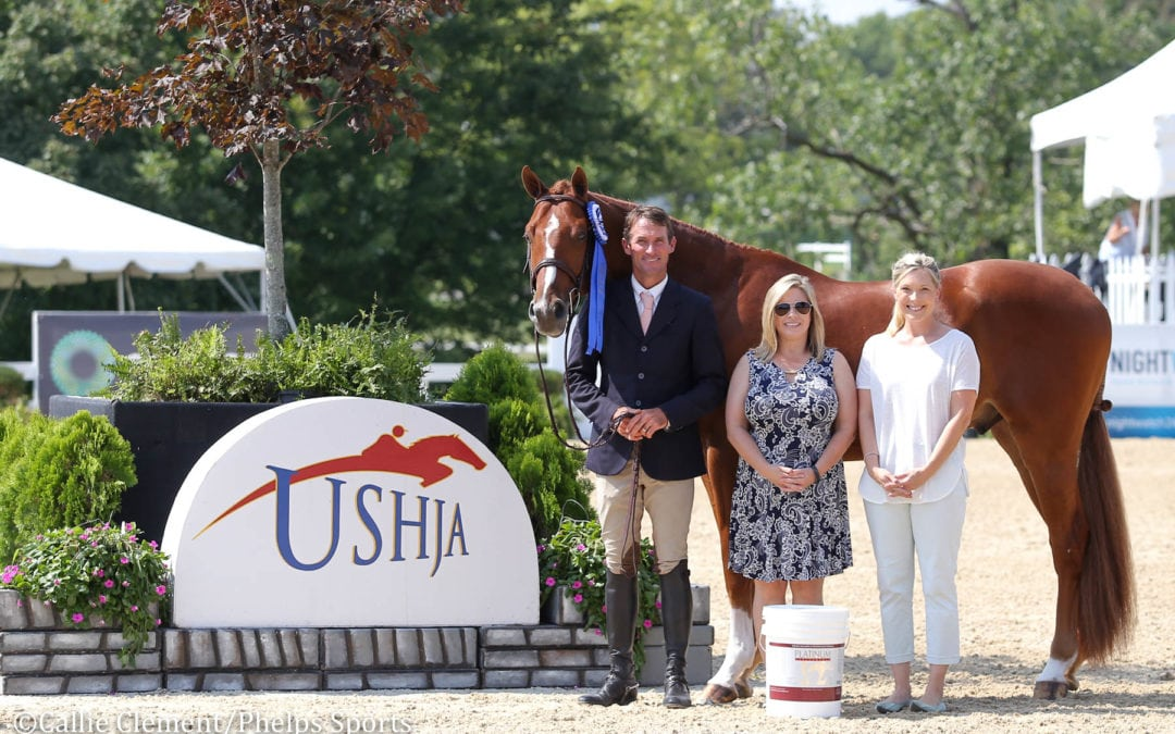 Hunt Tosh and Bordeaux Lead First Day of 2018 Platinum Performance/USHJA Green Hunter Incentive Championships