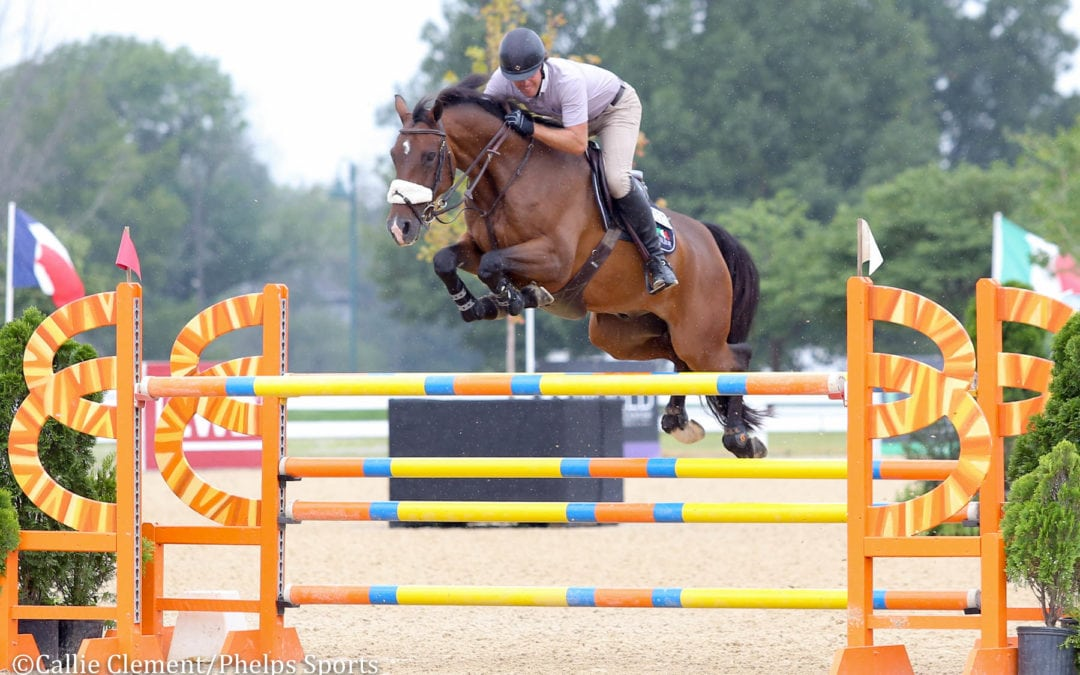 Hardin Towell and Carlo Lead From Start to Finish in $5,000 1.40m Open Jumpers
