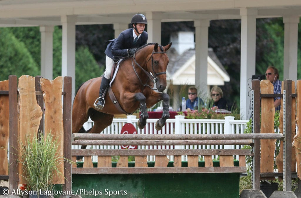 Brian Moggre Remains Undefeated in Aspca Maclay at Equifest II