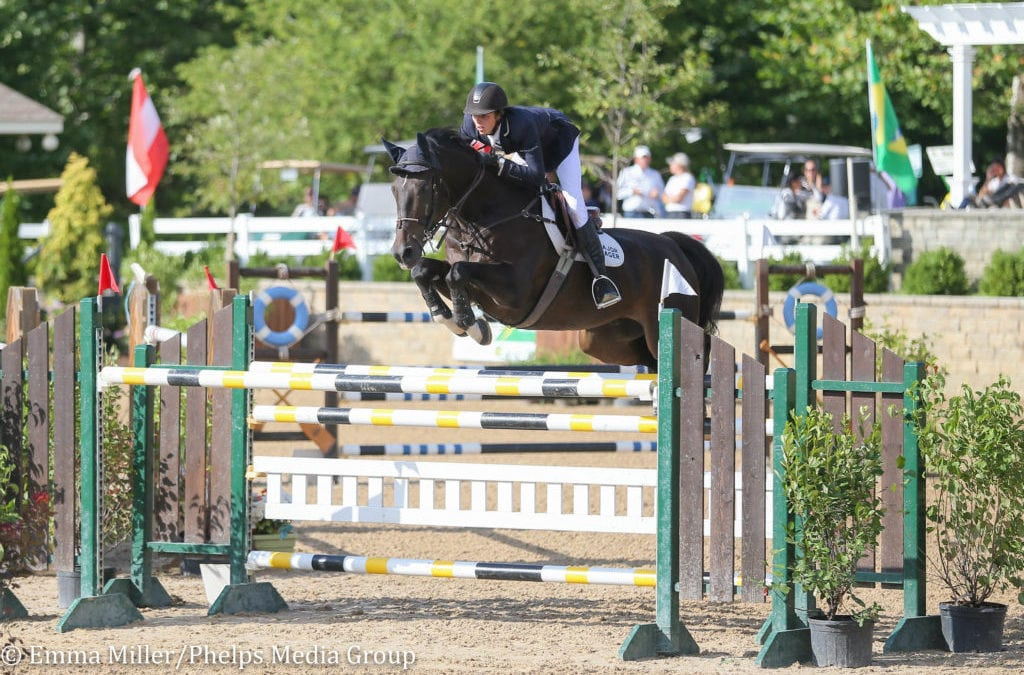 Brian Moggre and MTM Vivre Le Reve Race to Double-Clear Win in $25,000 Welcome Grand Prix at Equifest II