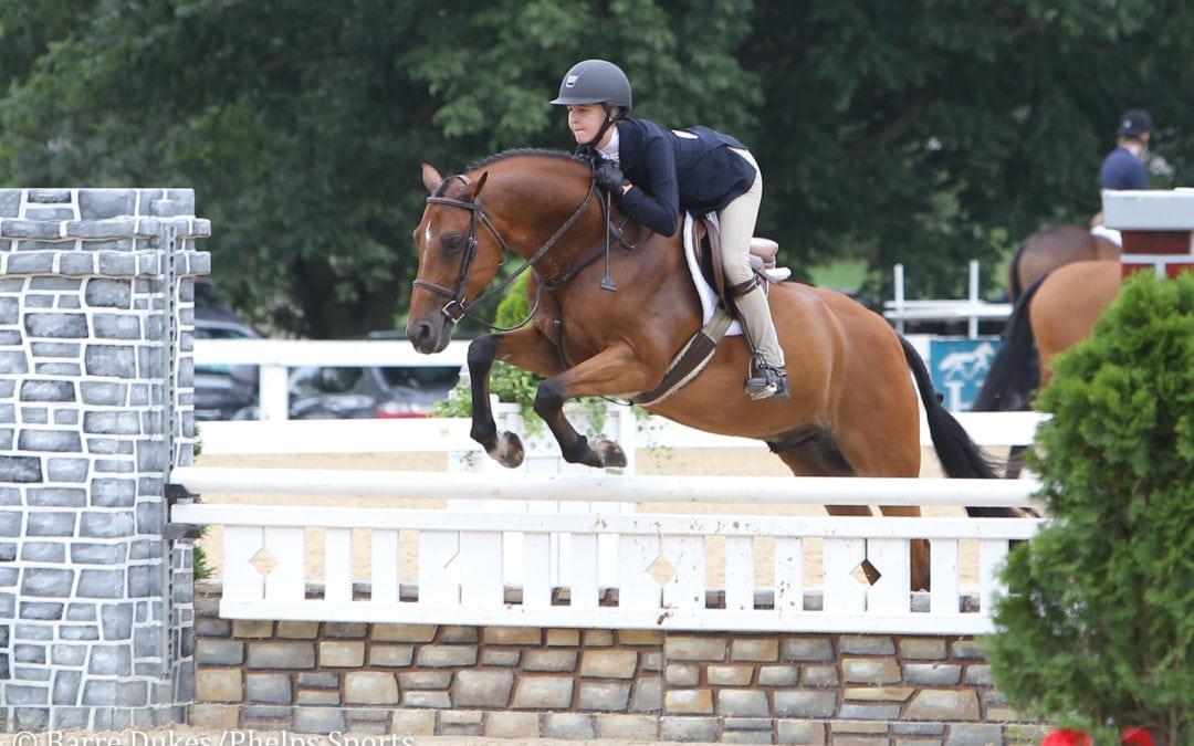 Lourdes Low is Splendid to Capture USEF Large Pony Medal Win