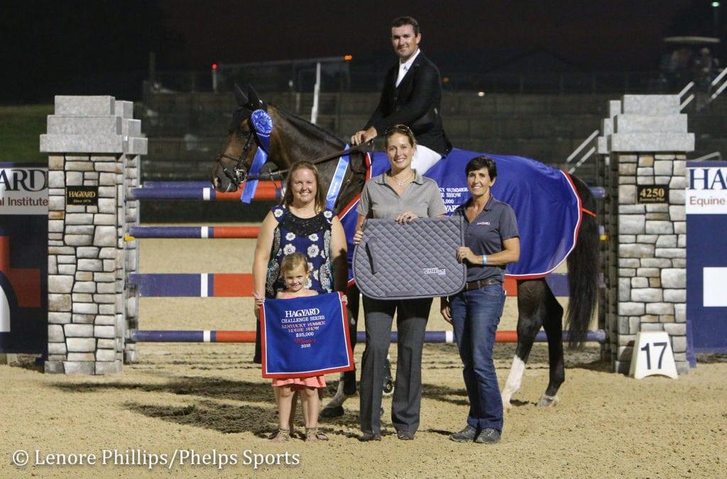 Lorcan Gallagher Dominates $25,000 Hagyard Lexington Classic at Kentucky Summer Classic