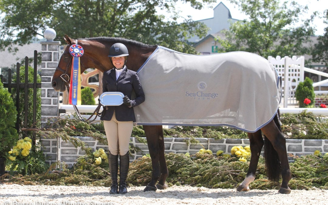 Ashley Vogel Rides Her Own Legacy to Junior Hunter Grand Championship