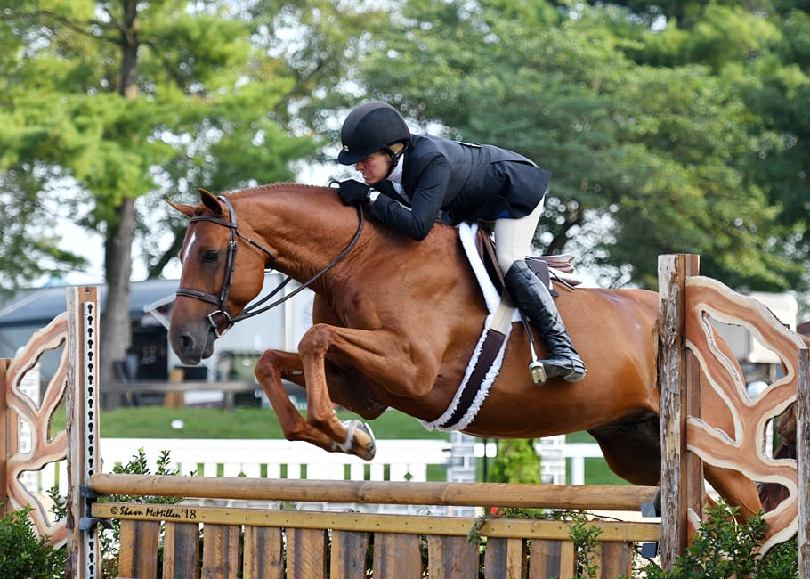 Kelley Farmer Clean Sweeps Second Professional Hunter Grand Championship in Kentucky
