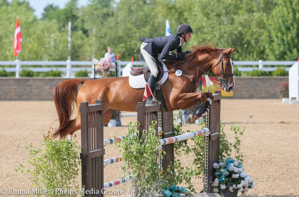 Brian Moggre and MTM Los Angelos Top the Leaderboard in Junior/Amateur-Owner 1.30m Jumpers at Equifest II