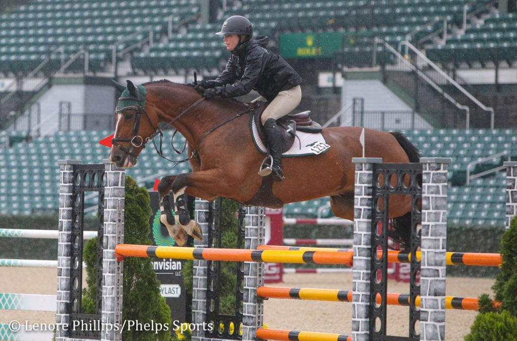 Hayley Waters and Uppie De Lis Take Early Lead to Win $5,000 1.40m Open Jumpers