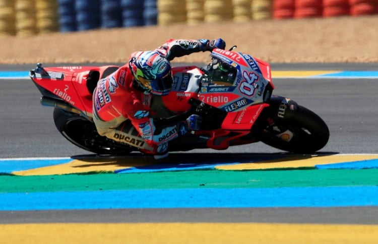 Motorcycling: Dovizioso puts Ducati on pole for Czech GP