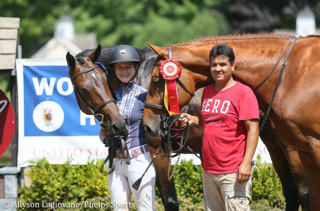 Madeline Thatcher Brings Home Amateur-Owner 3'6'' Hunter Champion and Reserve at Equifest II
