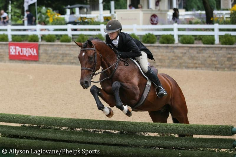 Dorothy Douglas is Exceptional to Win $15,000 USHJA International Hunter Derby at Equifest II