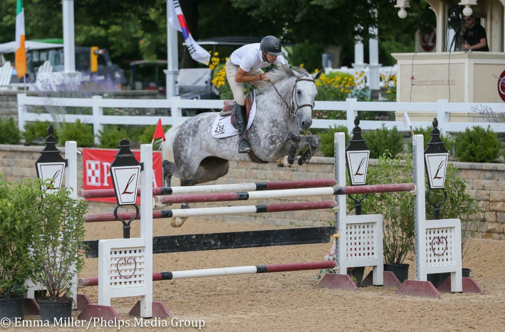 Ryan Michael Genn and Calamera Clinch Open 1.35m Jumpers at Equifest II