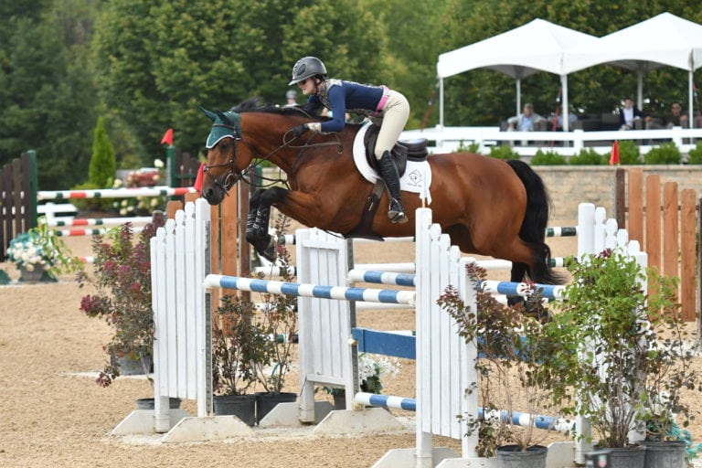 Maggie Jayne and Cupina Colada Kick Off Equifest III with Open 1.30m Open Jumper Win