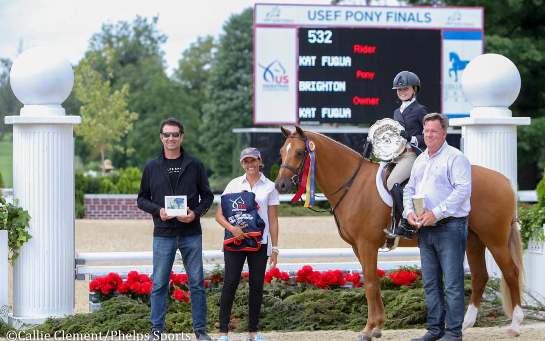 Kat Fuqua and Skylar Wireman Crowned First Two 2018 USEF Pony Finals Champions