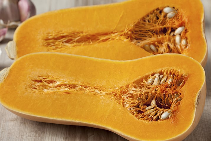 Butternut squash offers an excellent way to increase your vitamin C levels