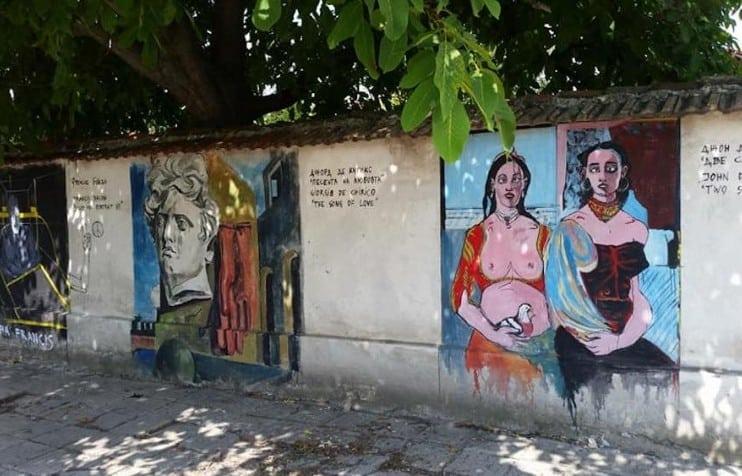 New York art turns Bulgarian village into outdoor gallery