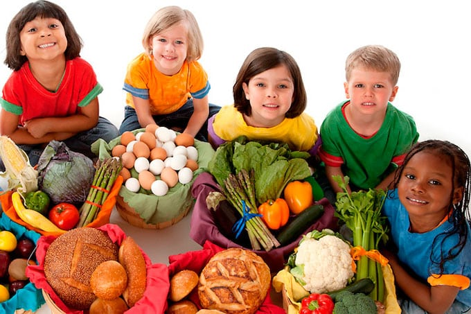 Familiarity with a variety of healthy foods through the early years leads children to good eating habits later
