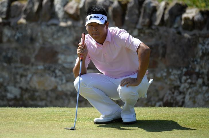 Golf: Wu becomes China's first triple winner on European Tour