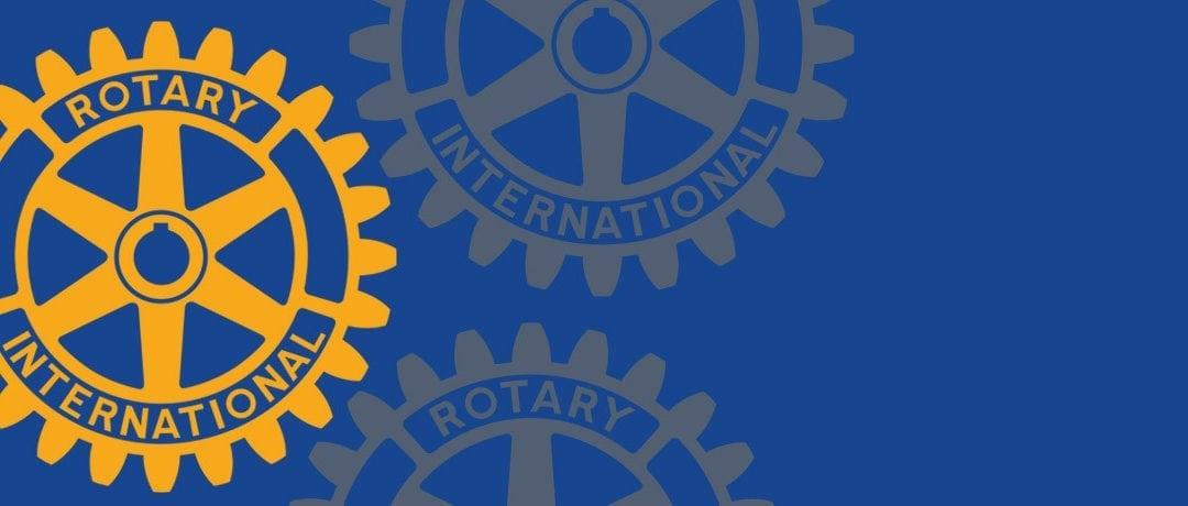 Thurston Visits Rotarians