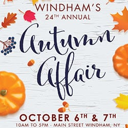 Autumn Affair Kicks  Off On Main Street Oct 6 & 7 th in Windham NY