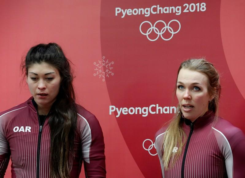 CAS lifts provisional suspension of Russian bobsledder Sergeeva