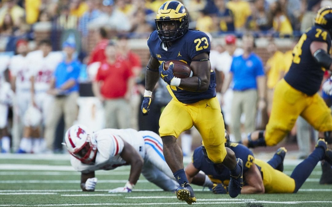 Michigan dismisses RB Samuels after arrest