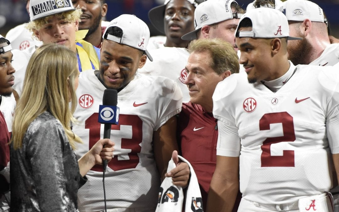 College football notebook: Tua back for Bama's 1st bowl practice