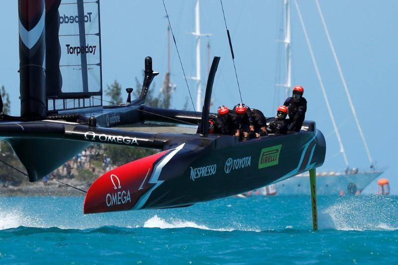 Sailing-America's Cup gets real with first competitive races this week
