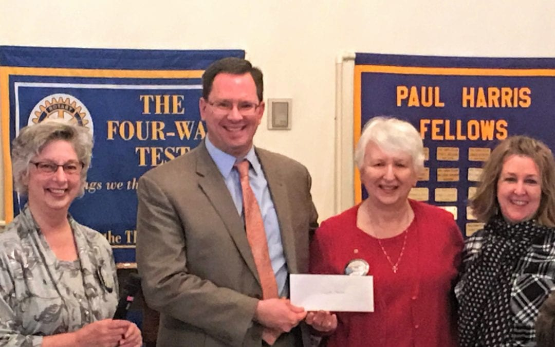 Newark Rotary helps support Laurel House
