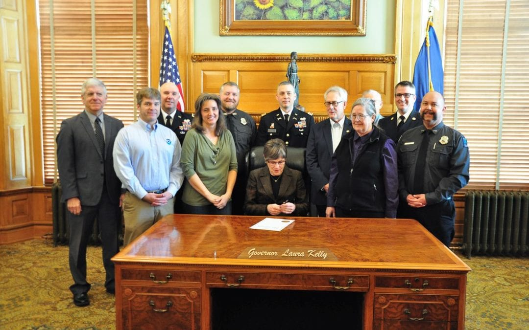 Kansas Gov. Laura Kelly Proclaims Feb. 4-8 as Wildfire Awareness Week in Kansas