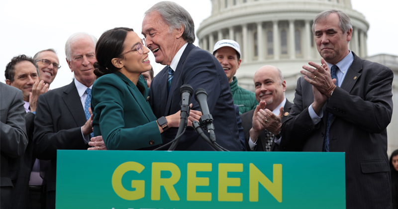 GREEN NEW DEAL: MASTERFUL POLITICS, ECONOMIC TRAIN WRECK