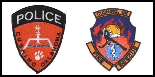Cushing Police and Fire Reports