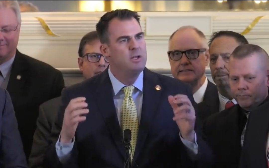 GOVERNOR STITT SIGNS AGENCY ACCOUNTABILITY BILLS