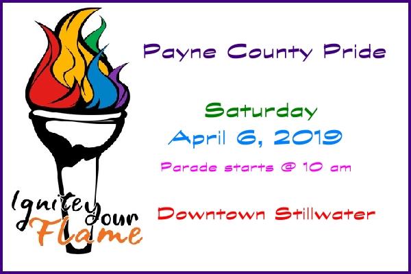 Northern Oklahoma's Newest Pride Festival