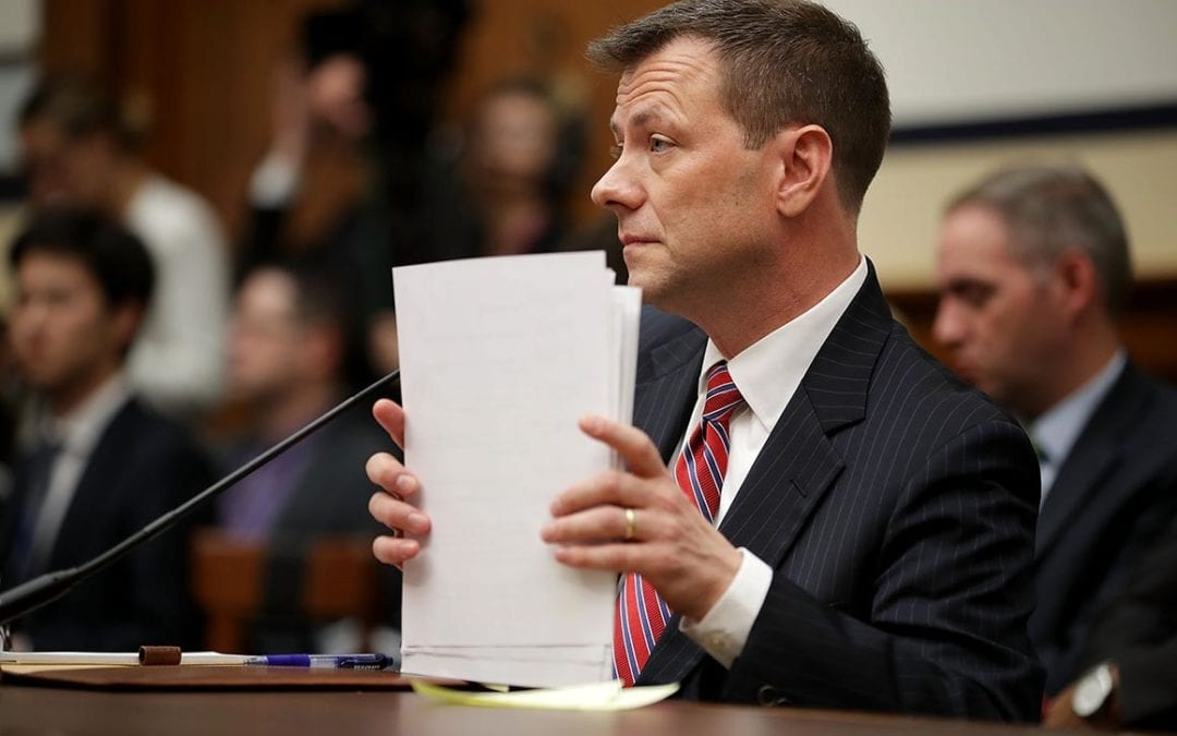 EX-FBI AGENT PETER STRZOK'S PRIVATE TESTIMONY TRANSCRIPTS RELEASED