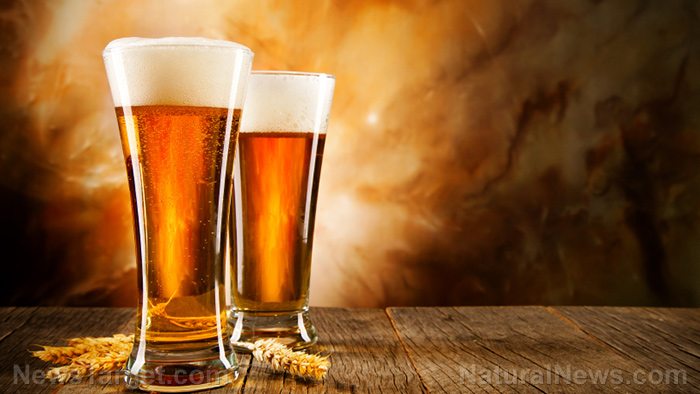 Drink up: Beer is full of dietary silicon that can lower your risk of osteoporosis