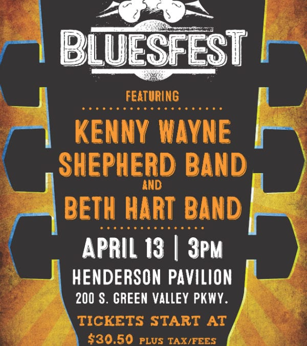 Henderson Pavilion Will Sing the Blues This Saturday