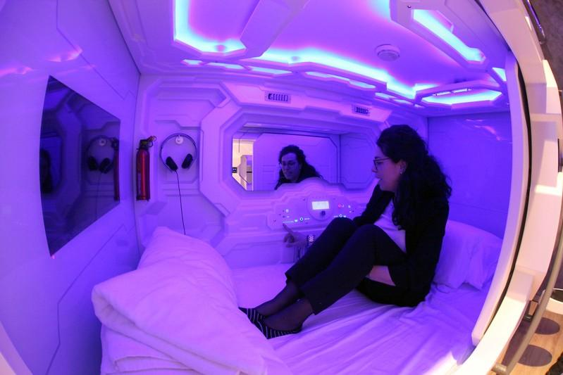 First hotel with sleeping capsules opens in Slovenian capital