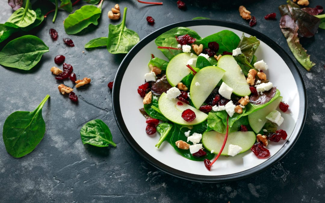Fruits, nuts, and seeds: The 10 healthiest salad toppings