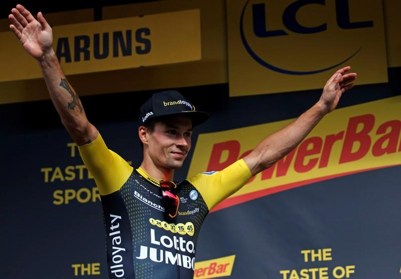 Cycling: Roglic emerges as man to beat in Giro after time trial win