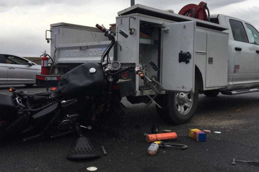 Motorcyclist killed in crash on I-15 in northern Las Vegas Valley