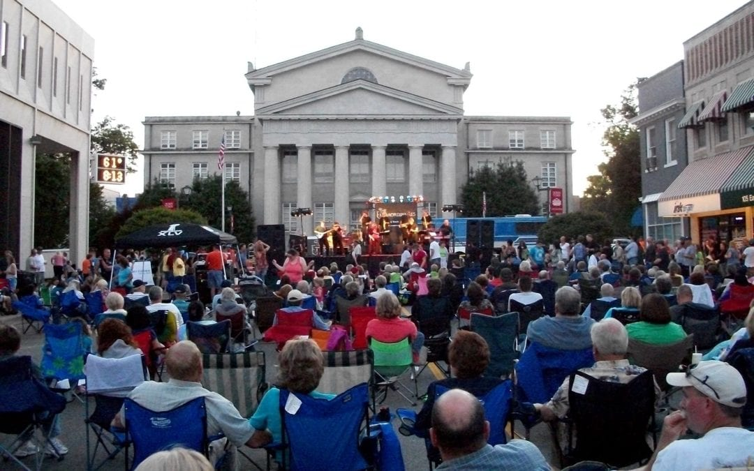 Lincolnton Alive After Five Concert Series Begins May 30, 2019