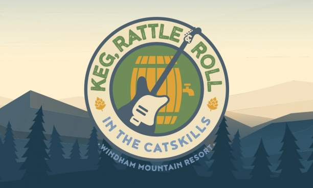 """Windham Mtn announces """" Keg, Rattle & Roll in the Catskills """"  -August 3 – 4 th , 2019"""