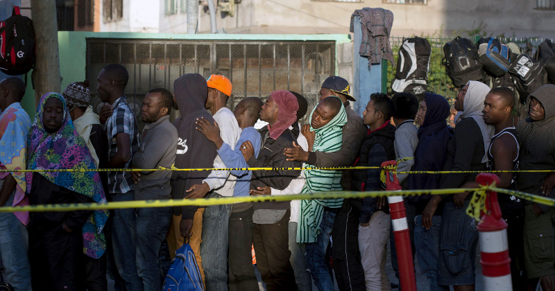 Hundreds of African Migrants at US-Mexico Border Demand Entry