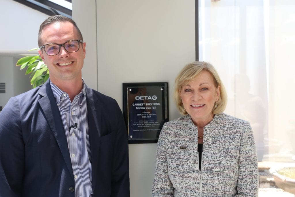OETA Renames Media Center in Honor of Outgoing Board Chair – [your]NEWS