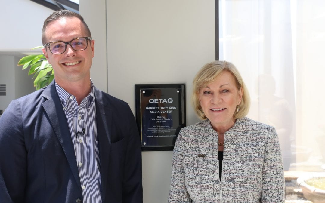 OETA Renames Media Center in Honor of Outgoing Board Chair