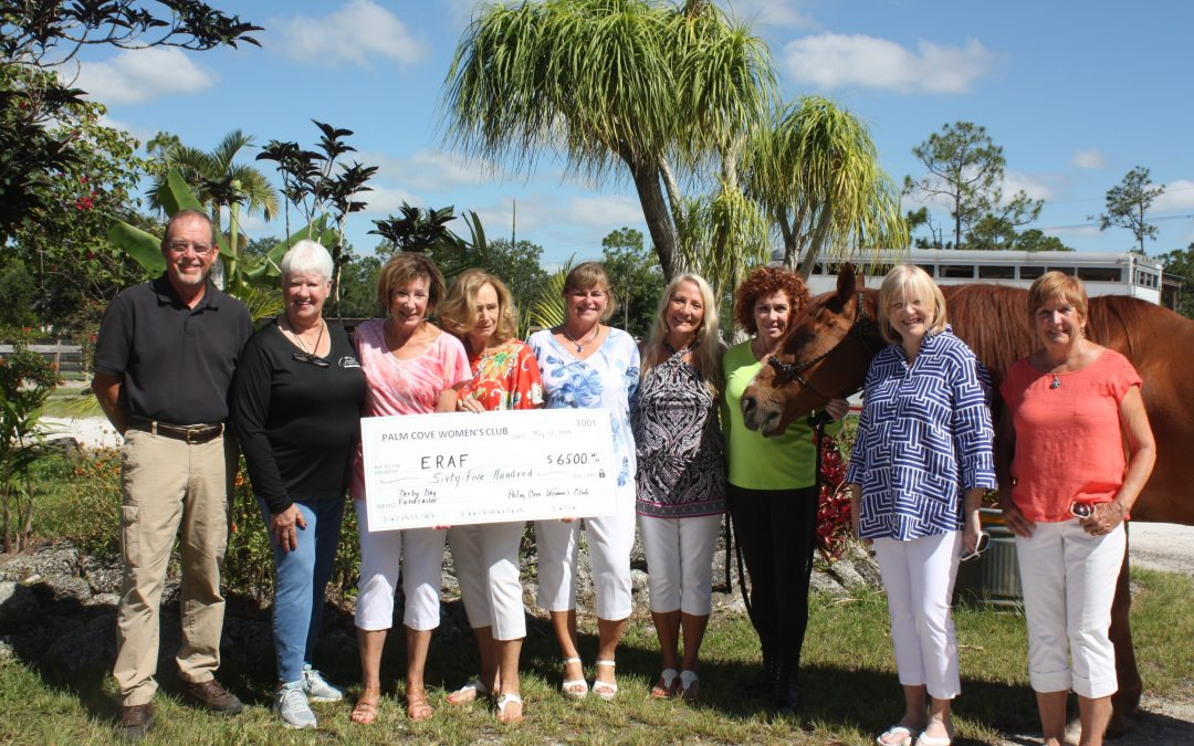 Palm Cove Women's Club Derby Day Party a Winner!