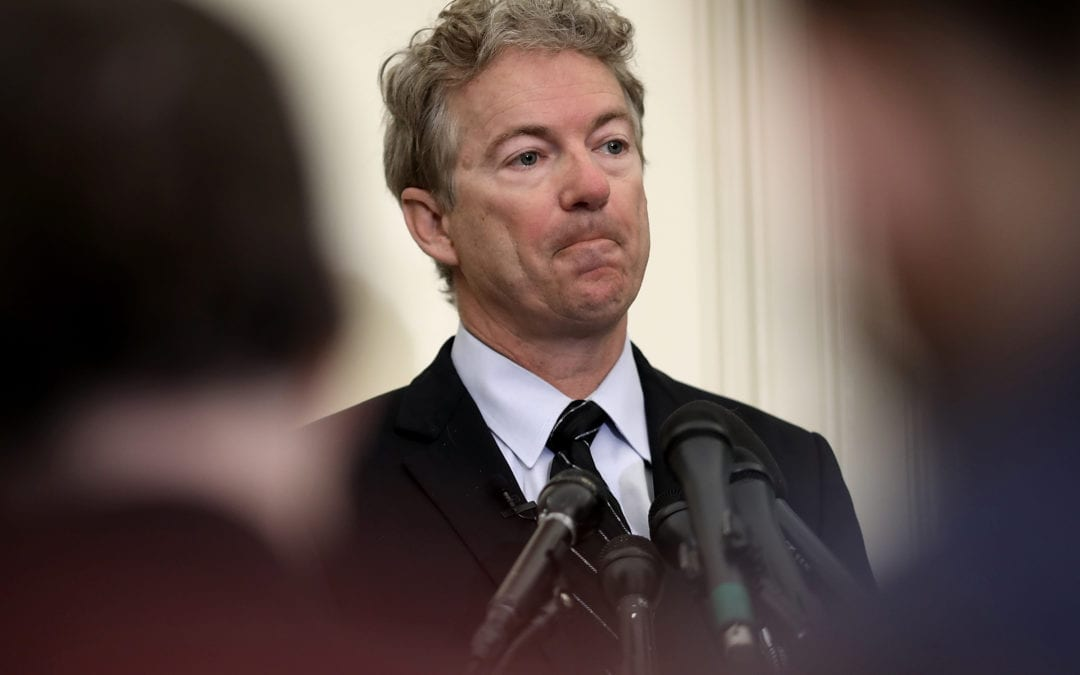 Rand Paul Introduces REPUBLIC Bill To Limit Presidential Emergency Powers